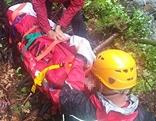 Bergrettung Seilbergung Hubschrauber Goldeck