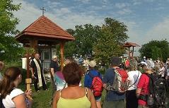 shodišće Vedešin u Pamhagen put svetoga Jakova