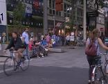 Radfahrer in der Mariahilfer Straße