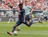 Testspiel Bayern gegen Paris St. Germain
