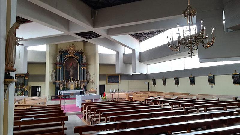 Katholische Kirche Apetlon innen