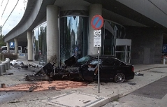 Unfall Hilton