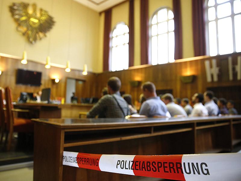 Identitären-Prozess in Graz