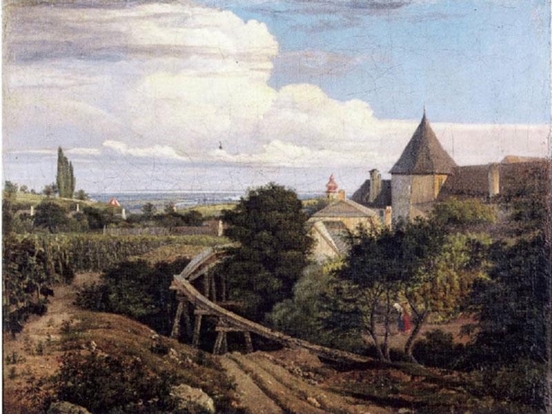 August Heinrich Gemälde