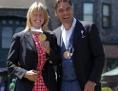 Michael Stich und Helena Suková