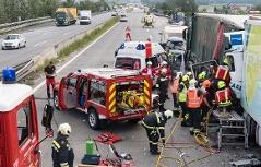 Lkw Unfall Westautobahn Sperre