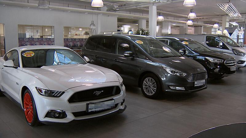 Autoausverkauf