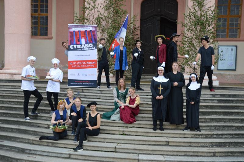 Theaterprojekt Cyrano de Bergerac Rostand