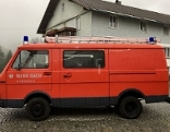 Feuerwehrauto ist Wanderkino