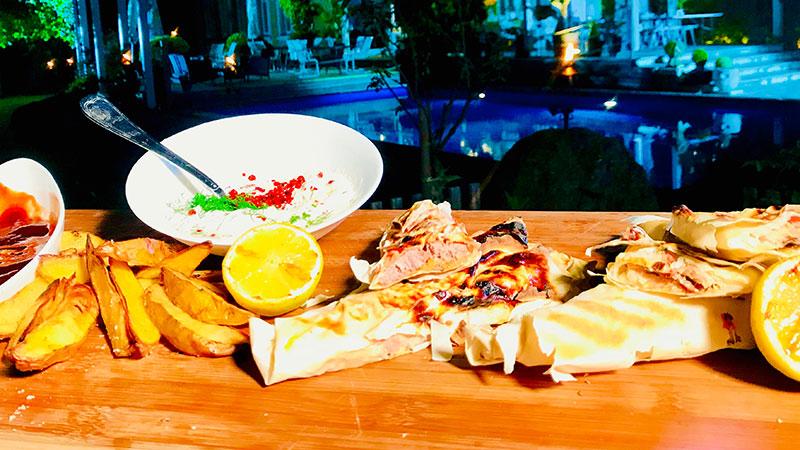 Grillen Grillzeit 20180726 Fisch Fleisch Tüte
