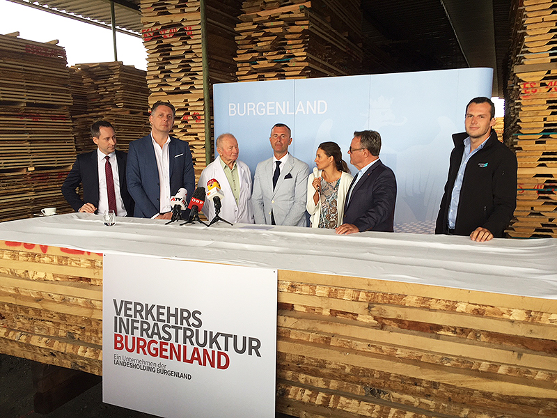 Bahnstrecke Presstermin, Niessl, Hofer, Petschnig, Schuch