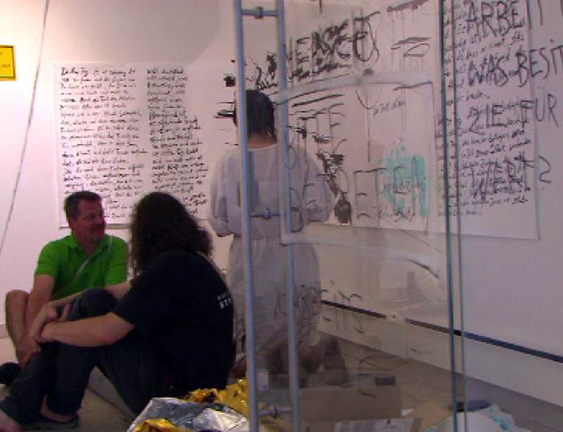 """In """"Nine to Five"""" startete die Künstlerin Verena Rotky einen Selbstversuch"""