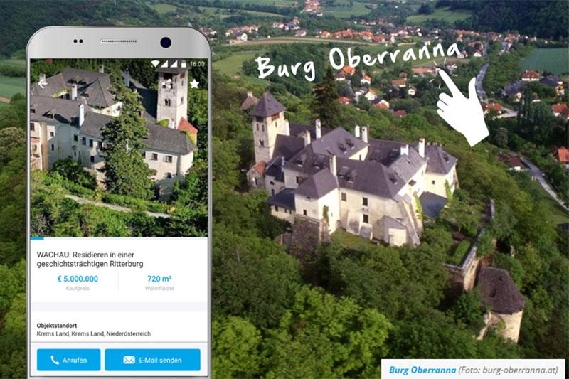 Burgen und Schlösser Verkauf Willhaben