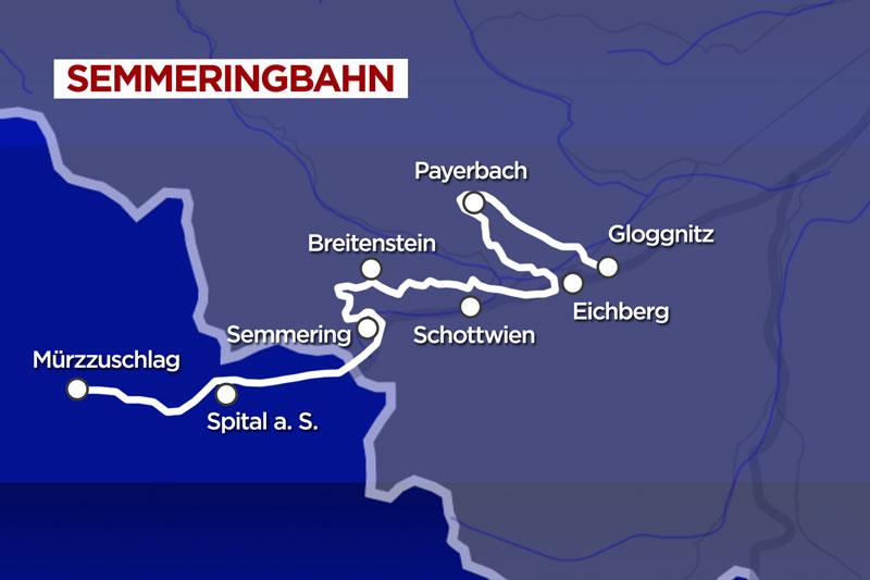 Strecke Semmeringbahn