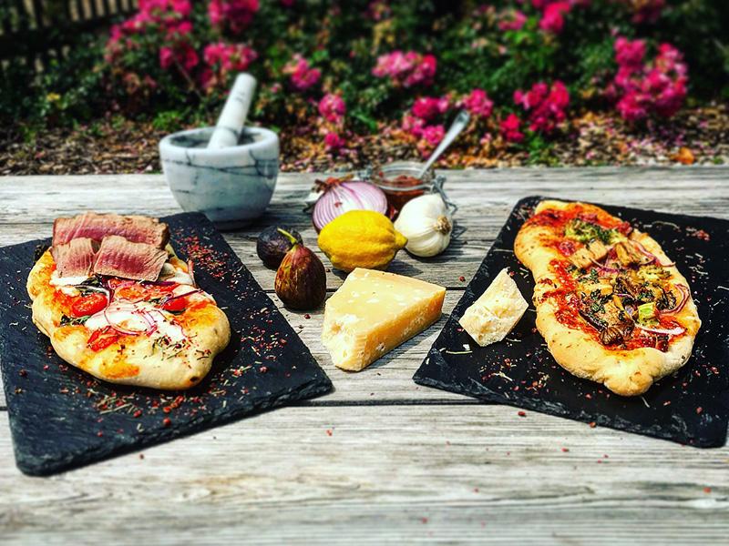 Grillzeit Pizzaschiffchen