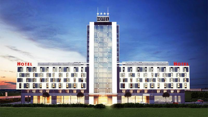 Erweiterung Pannonia Tower Parndorf