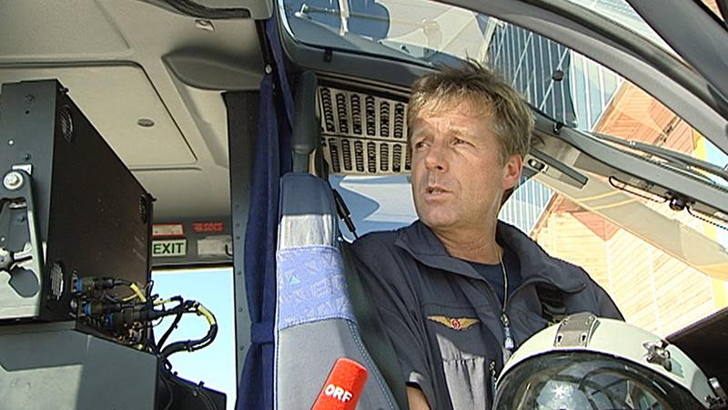 Johann Pletzer Pilot Hubschrauber
