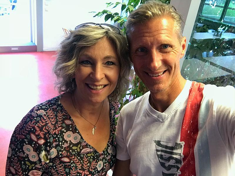 Sängerin Claudia Jung im Radio Steiermark Interview mit Oliver Zeisberger