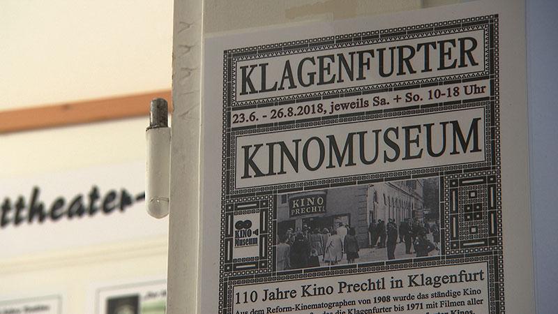 Kinomuseum Sonderschau erstes Kino Klagenfurt