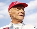 Niki Lauda am Samstag, 30. Juni 2018, während des Legenden-Rennens am Red Bull Ring in Spielberg