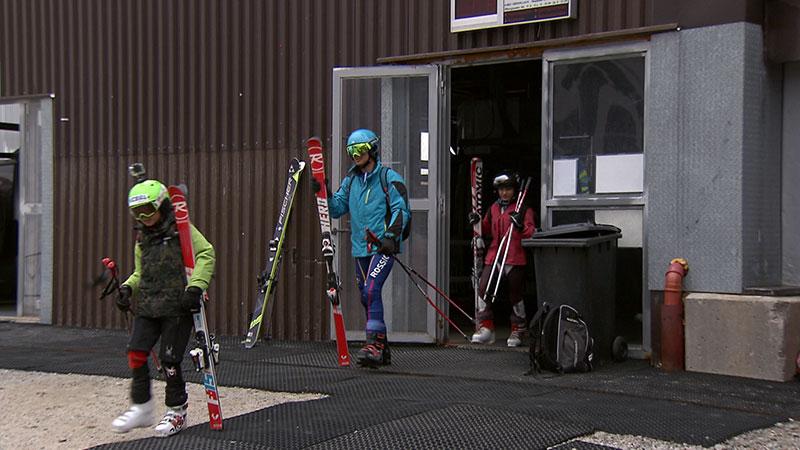 Libanesen beim Skitraining am Mölltaler Gletscher