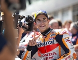 Moto-GP Fahrer Marc Marquez