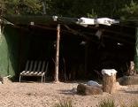 Camping wildes Campieren Kontrollen Bergwacht