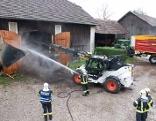 Brand bei Schloss Aistersheim