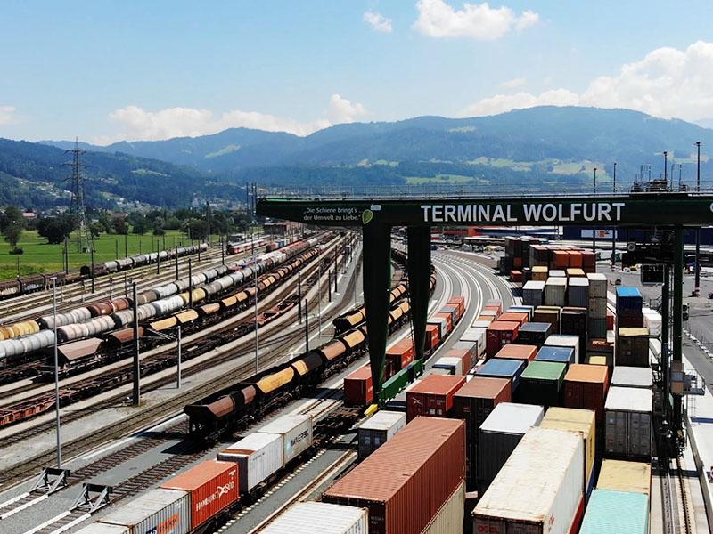 Tor zur Welt Güterbahnhof Wolfurt