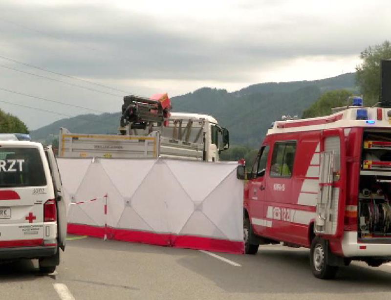 Tödlicher Verkehrsunfall in Mürzhofen