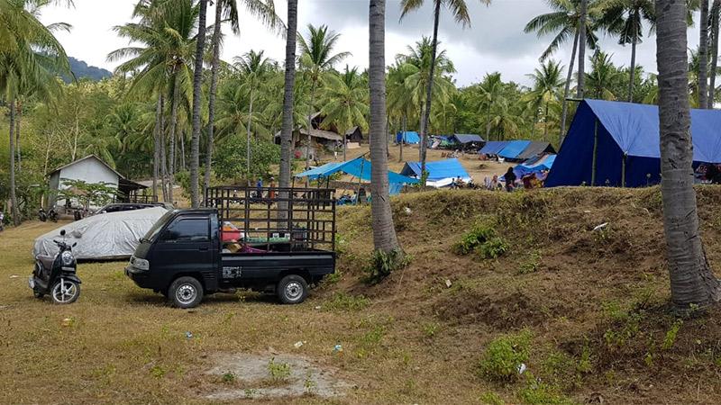 Lombok Indonesien Erdbeben Josch Brunner