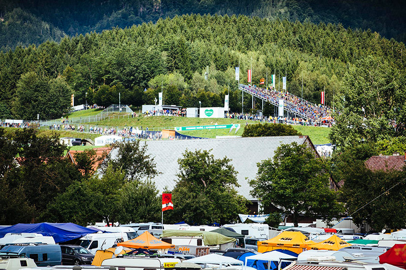Am Wochenende startet die Moto-GP am Red Bull Ring in Spielberg.
