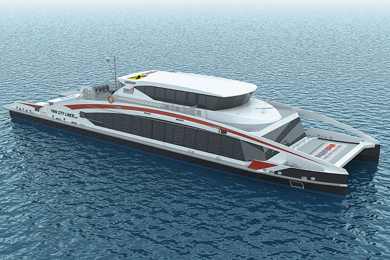 Neuer Twin City Liner Rendering