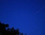 Sternschnuppen Perseiden Plätze Nacht