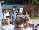 Betriebsversammlung der AUVA mit anschl. Protestaktionen gegen AUVA-Zerschlagung am Montag, 13. August 2018, in Wien