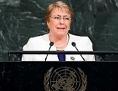 Michelle Bachelet wird neue UNO-Kommissarin für Menschenrechte