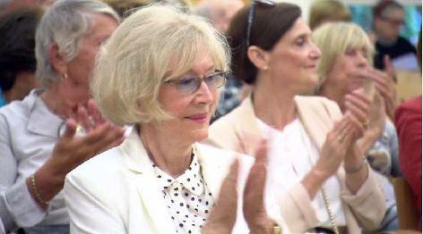 Dana Hermannová | gute Freundin von Alexander Dubcek bei Filmprämiere in Wien