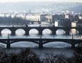 pražské mosty přes řeku Vltavu