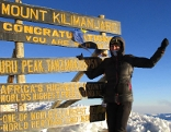 Michaela Foltin, Kilimandscharo