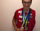 Andreas Onea zwei EM Medaillen