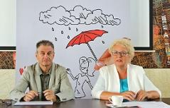 Konsumentenschutzlandesrätin Verena Dunst, Bankenombudsmann für das Südburgenland, Ernst Loos