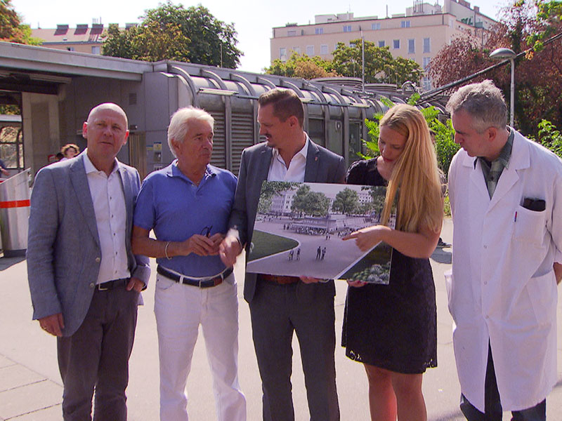 Initiative will Gastromeile auf dem Reumannplatz