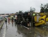 Rettungshubschrauber A9 Pyhrnautobahn Unfall