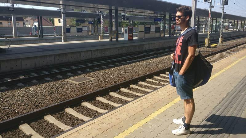 Abwanderung Kärnten Bahnhof, nur für diese Geschichte!