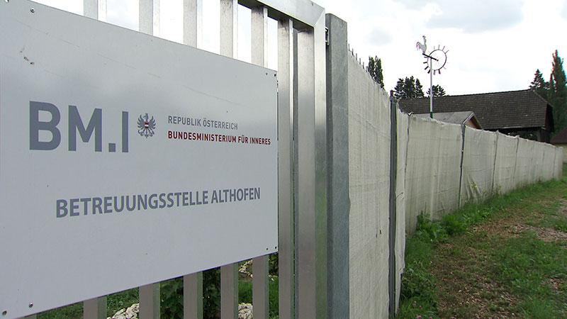 Asyl Flüchtlinge Quartier Schließung