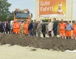 Spatenstich bei der neuen Autobahnmeisterei Bruck an der Leitha