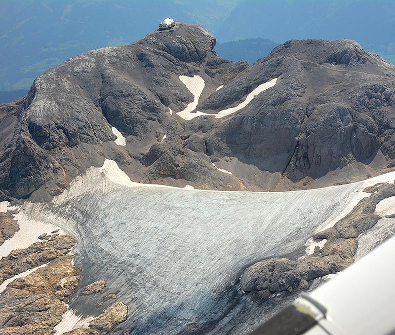Hochkönig Übergossene Alm Matrashaus Klimawandel Gletscher Gletschereis