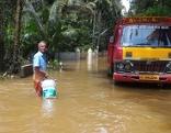 Pfarrer sammelt Spenden