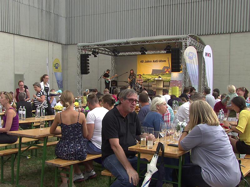 Grillfest Atomkraftwerk Zwentendorf