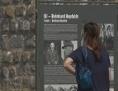 Výstava Anthropid-pravdivý příběh v bývalém koncentračním táboře Mauthausen v Rakousku
